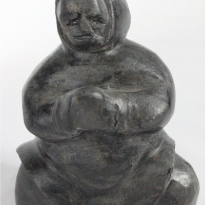 Woman - Inuit carving by Toona Iqulik