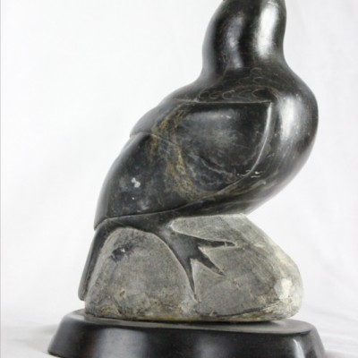 Inuit carving of bird