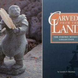 Carved From The Land-- Lorraine E. Brandson