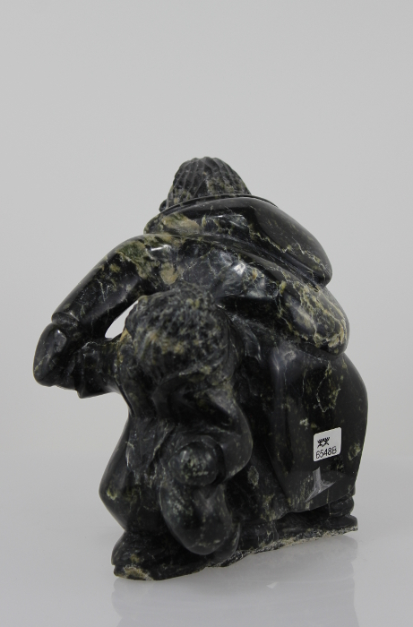Mother and Child Inuit Carving