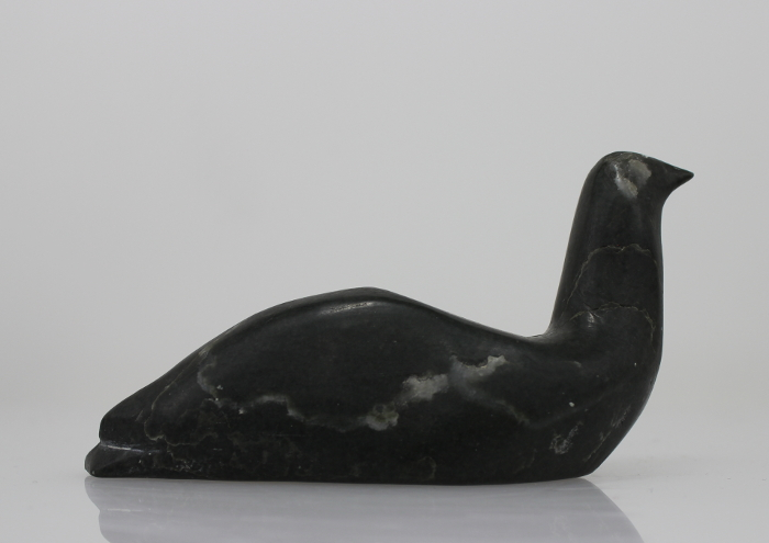 Lovely bird carved by an unknown Inuit artist