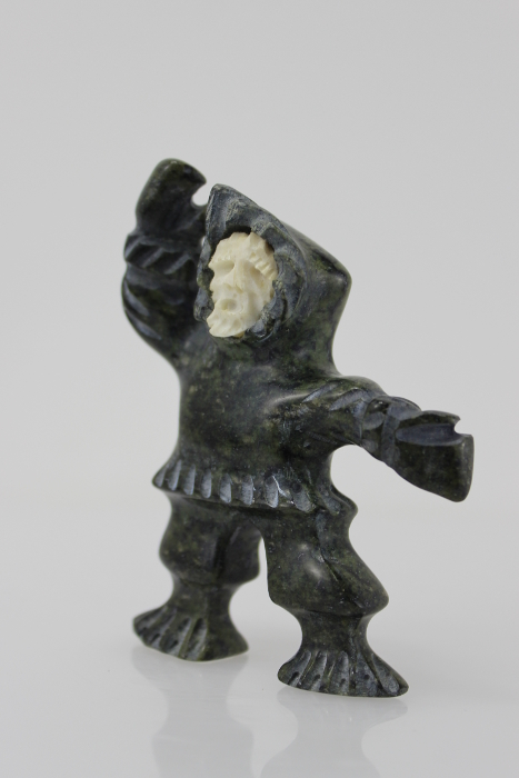 Inuk carving by an Inuit artist from Pangnirtung
