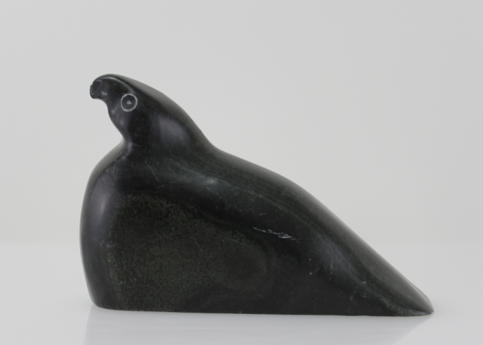 Wonderful bird carved by Inuit artist Billy A.