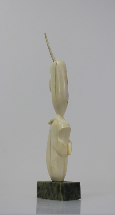 Ivory Narwhals by an unknown Inuit artist, believed to be from Pangnirtung