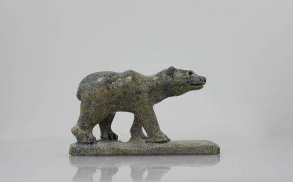 Serpentine polar bear by Cape Dorset artist Pootoogook Jaw