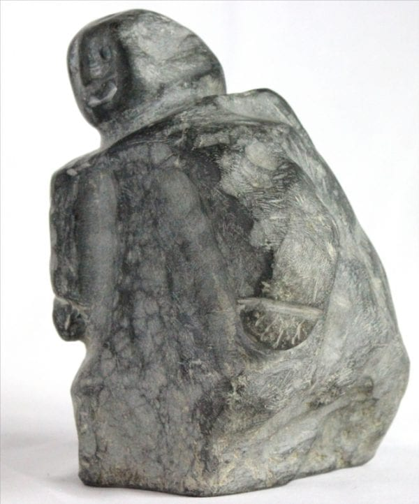 Inuit carving of woman, unknown artist