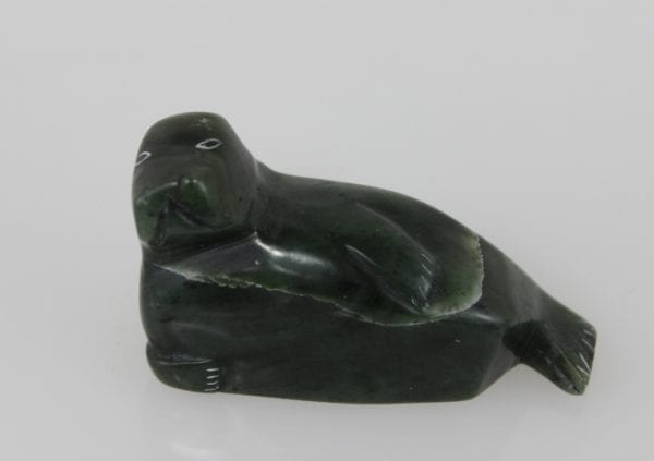 Seal carved in distinctly marked stone