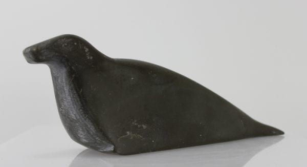 Older Inuit carving of a seal