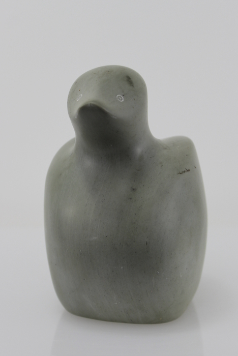 Inuit art bird carving by Nellie Appaqaq