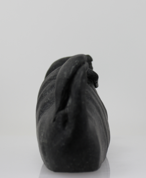 Wonderful Inuit carving of a seal by master carver Bart Hanna