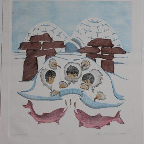 Wonderful print by Mary Okheena