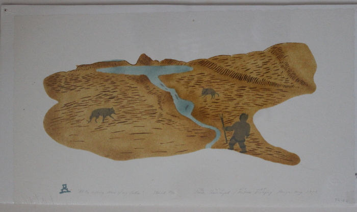 Fantastic print by an artist from Pangnirtung