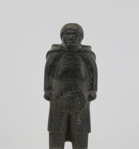 Wonderful carving by Iqaluit carver Youga Yougaosie