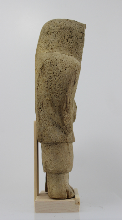 Whalebone carving by an unknown artist.