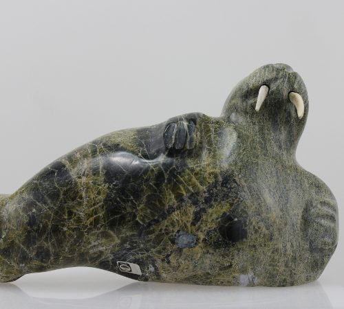Walrus by Kridluar from Cape Dorset