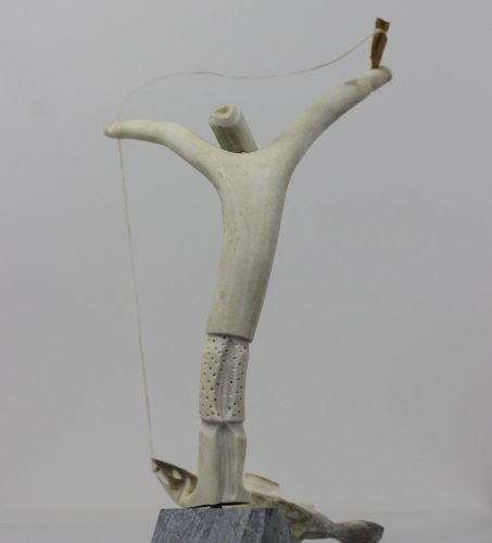 Fisherman by George Noah from Rankin Inlet, Nunavut