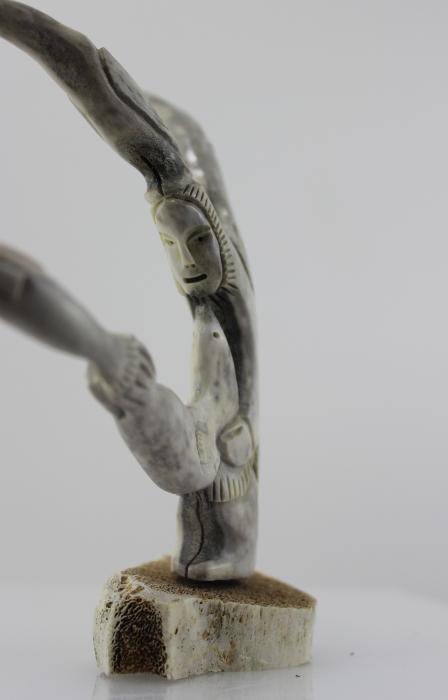 Inuk Hunting by Ross Kayotak from Igloolik