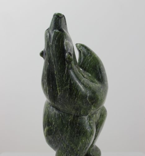 Dancing Bear by Isacie Petaullassie from Cape Dorset