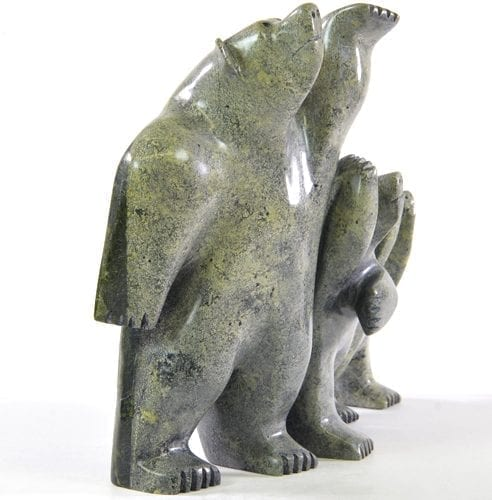 Bears by Kakee Ningeosiaq from Cape Dorset