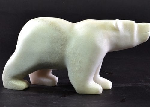 Bear by Kakee Ningeosiaq from Cape Dorset