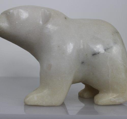 Polar Bear by Napachie Ashoona from Cape Dorset