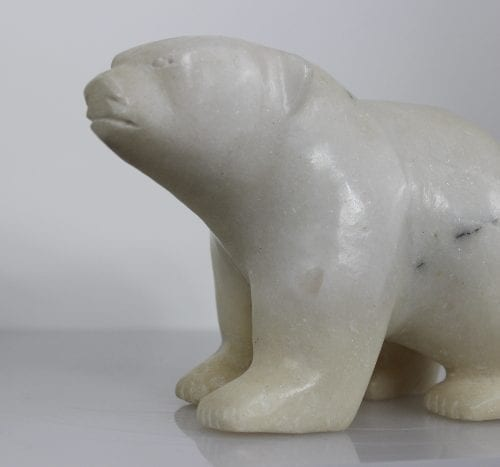 Polar Bear by Napachie Ashoona from Cape Dorset