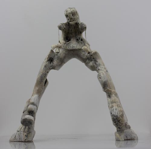 Jawbone composition by Luke Taqqaugaq from Igloolik