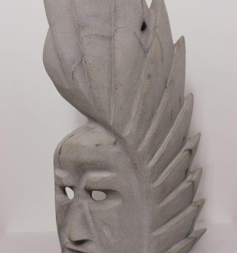 Mask by Kudlu Kellypalik from Kinngait-Cape Dorset