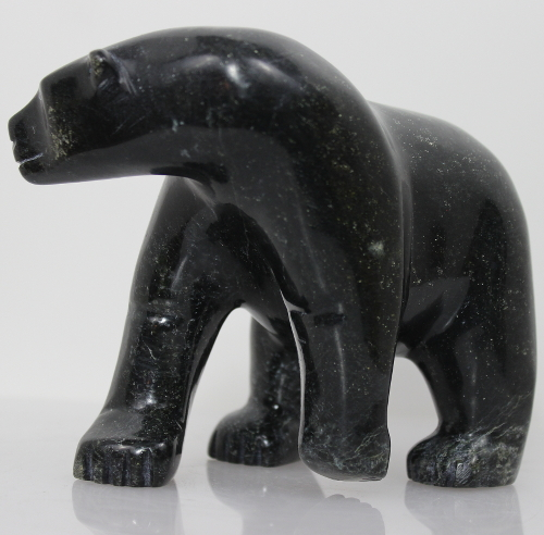 Polar Bear by Pauloosie Tunnillie from Kinngait - Cape Dorset