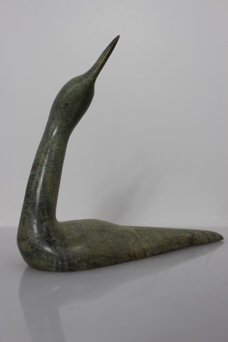 Loon by Ningeosiaq Ashoona from Kinngait - Cape Dorset