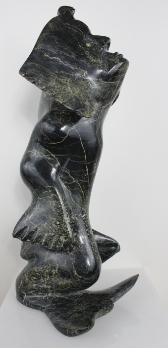 Sedna Transformation by Ning (Ningeosiak) Ashoona from Kinngait (Cape Dorset)