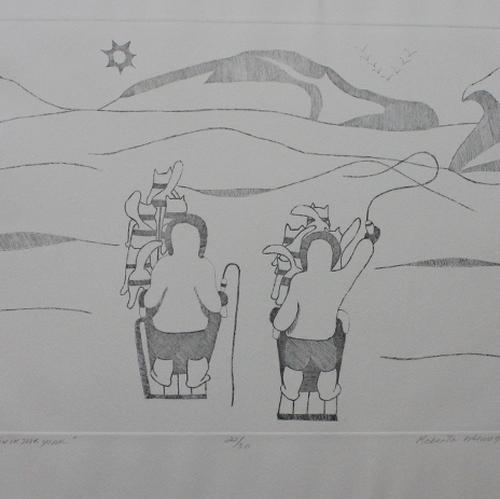The Race to Kikiktakyoak by Roberta Memogana from Holman