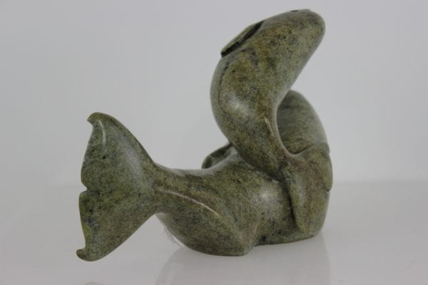 Whales by Kelly Etidloie from Kinngait - Cape Dorset
