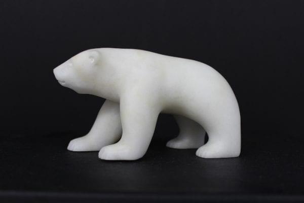 Polar Bear by Lyle Nasogaluak from Tuktoyaktuk