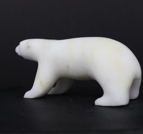 Polar Bear by Lyle Nasogaluak from Tuktoyaktuk