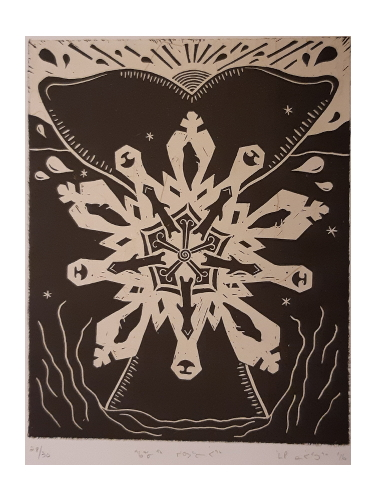 Snowflake by Maggie Napartuk from Inukjuak