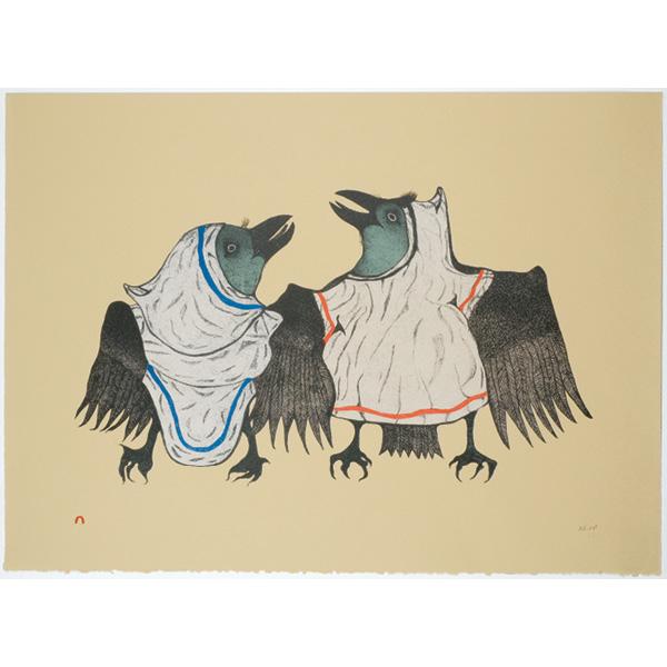 Raven's Reel by Pitaloosie Saila from Cape Dorset/Kinngait