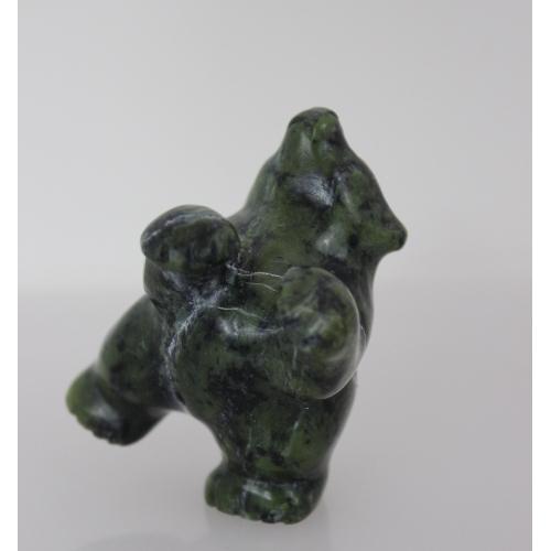 Dancing Bear by Markoosie Papigatok from Cape Dorset/Kinngait