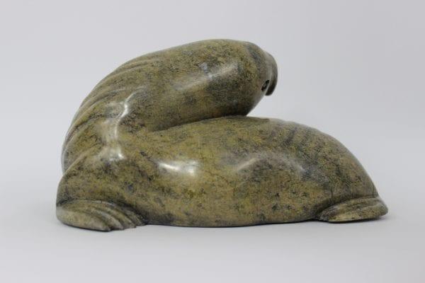 Walrus by Noah Jaw from Cape Dorset/Kinngait