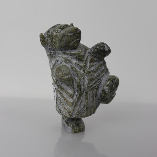Dancing Muskox by Pitseolak Qimirpik from Cape Dorset/Kinngait