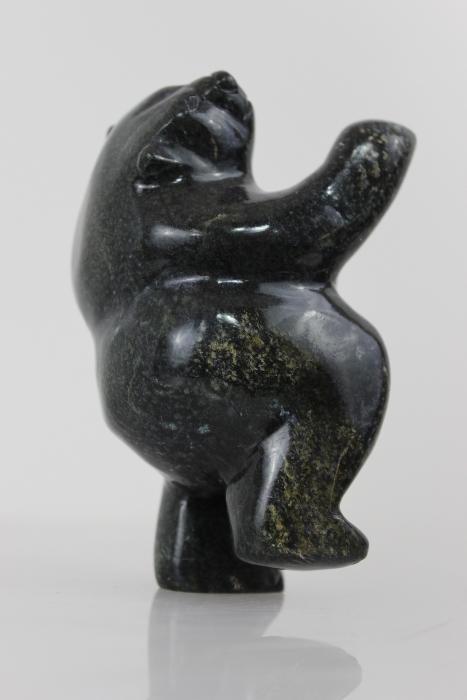 2-way Dancing Bear by Oqituq Shaa from Cape Dorset/Kinngait