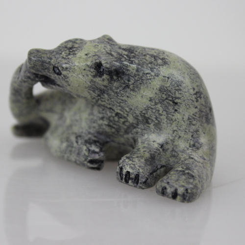 Wolf by Kelly (Kellipalik) Etidloie from Cape Dorset/Kinngait