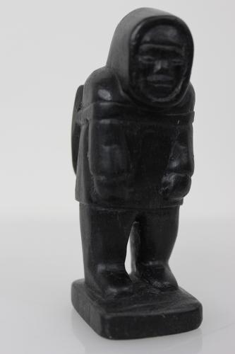 Hunter by Samuili Itukala from Povingnituk/Puvirnituq