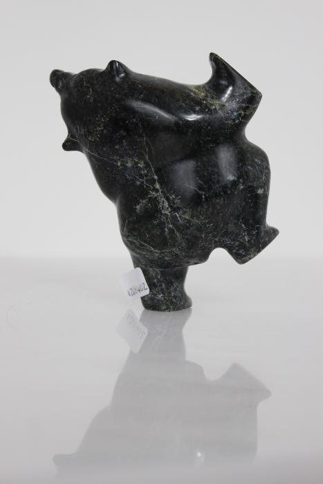 2-Way Dancing Bear by Isacie Shaa from Cape Dorset/Kinngait