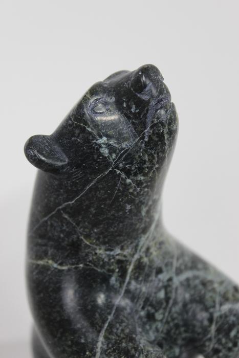 Dancing Bear by David (Davidee) Shaa from Cape Dorset/Kinngait