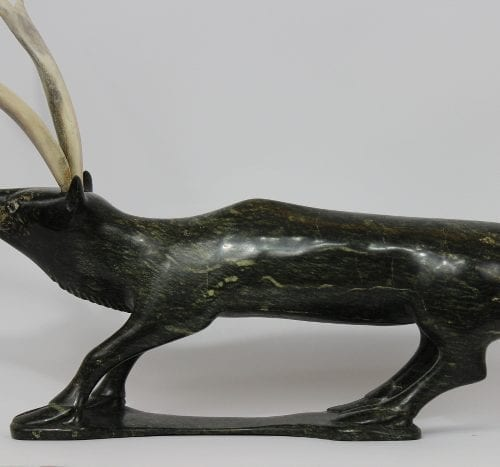 Caribou by Kimeata Nungusuitok