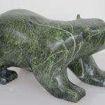 Bear by Kakee Ningeosiak from Cape Dorset/Kinngait