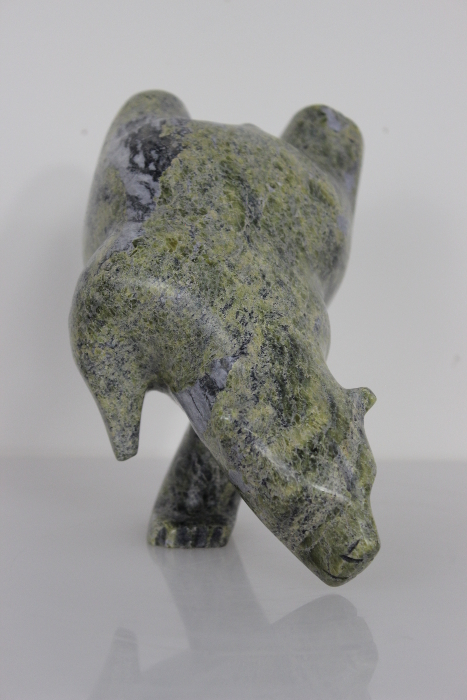 Dancing/Diving Bear by Timothy Ezekiel from Cape Dorset/Kinngait