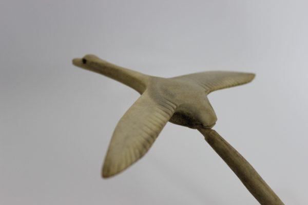 Geese on Nest by Bob Pokiak-Taylor from Tuktoyaktuk