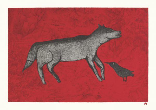 The Good Omen by Pitaloosie Saila 21-03 2021 Dorset Print Collection